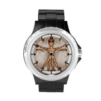 Reloj extranjero de Vitruvian