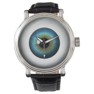 Reloj extraño extraño del personalizado del globo