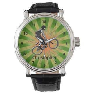Reloj extremo adaptable del diseño del motorista