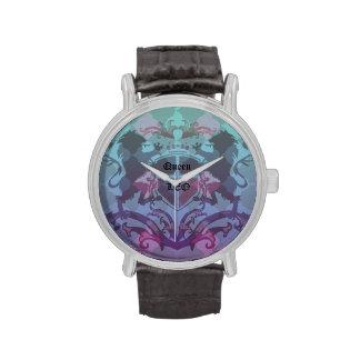 Reloj femenino de la reina Leo (muestra del