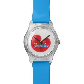Reloj Femke de Fryslân con su nombre