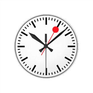 Reloj ferroviario suizo