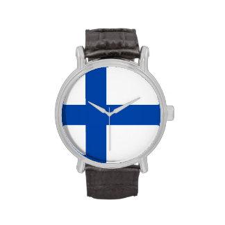Reloj finlandés - Suomen Lippu Kello