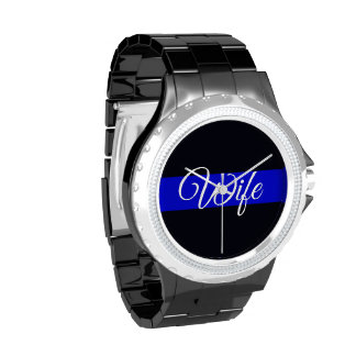 Reloj fino del diamante artificial de Blue Line de