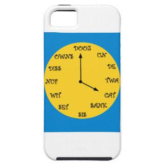 Reloj francés divertido funda para iPhone 5 tough