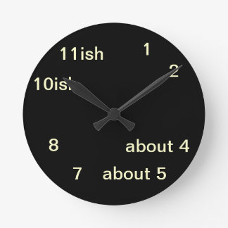 Reloj fresco 2 de One-ish del negro del