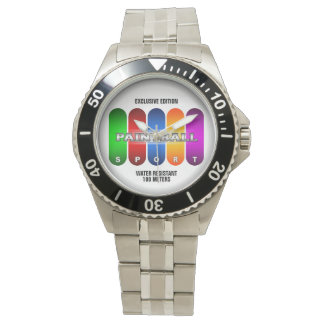 Reloj fresco del deporte de Paintball (modelos