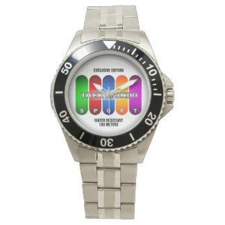 Reloj fresco del deporte del Taekwondo (modelos