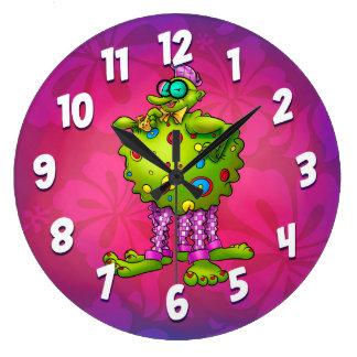 reloj fresco del dibujo animado