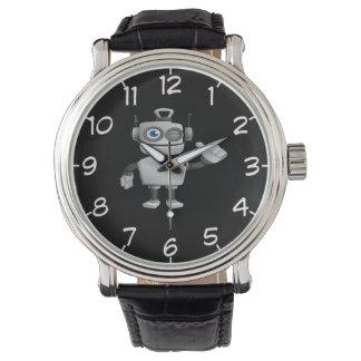 Reloj fresco del diseño del robot 6