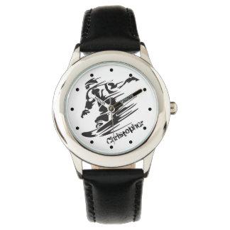 Reloj fresco personalizado de los niños de la