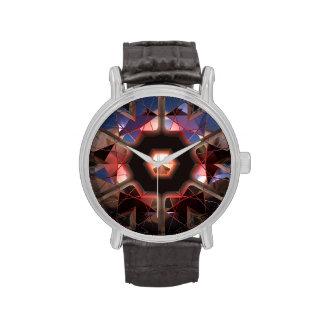 Reloj futurista de Chrystal X7-11 y opciones del