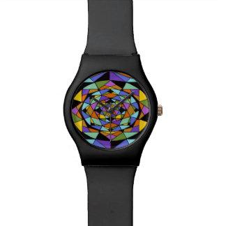 Reloj geométrico del laberinto