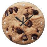 Reloj gigante de la galleta de microprocesador de