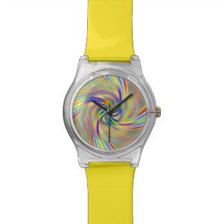 Reloj giratorio del arco iris