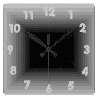 Reloj gris 4 del diseño del infinito