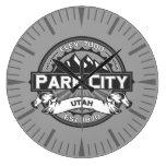 Reloj gris de Park City