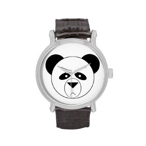 Reloj gruñón de la panda