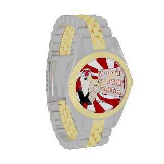 Reloj gruñón del tono de Santa dos