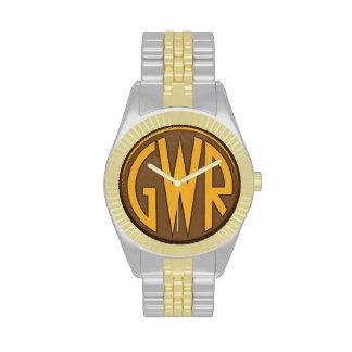 Reloj - GWR - ferrocarril de Great Western