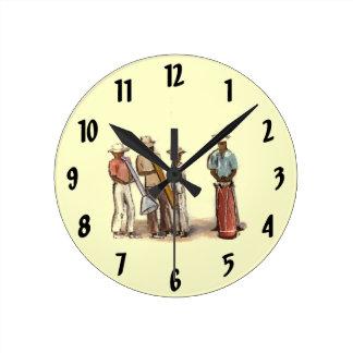 Reloj haitiano de los músicos de la calle
