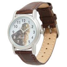 Reloj hermoso del pájaro del halcón