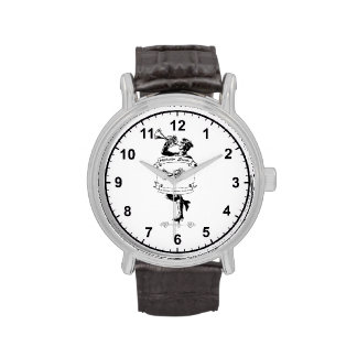 Reloj hundido Marvin w/numbers del diseño del