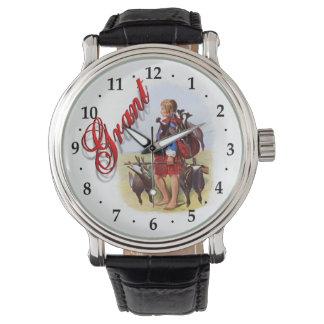 Reloj ideal escocés de Grant del clan