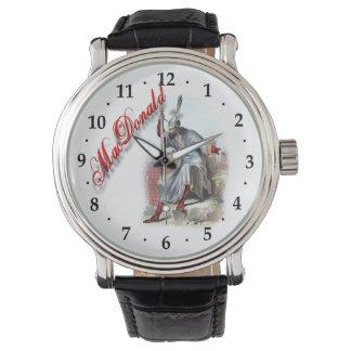 Reloj ideal escocés de MacDonald del clan
