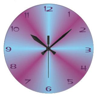 Reloj iluminado > modelado del rosa bonito de la a