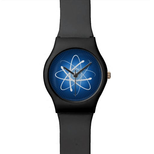 Reloj impresionante del friki del átomo el |