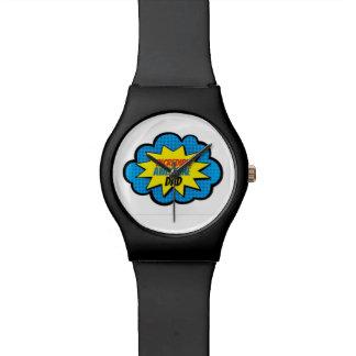 Reloj impresionante increíble del papá