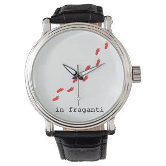Reloj in fraganti