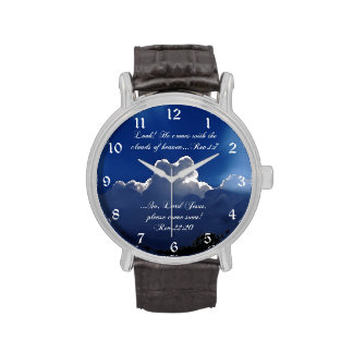 Reloj inspirado de la escritura