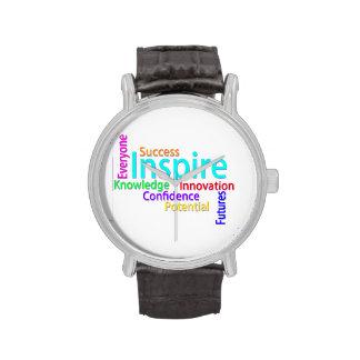 Reloj inspirado de las palabras
