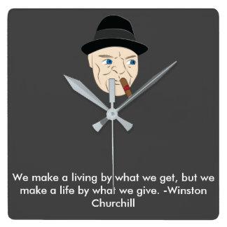 Reloj inspirado de Winston Churchill