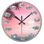 Reloj inspirado pacífico