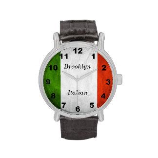 Reloj italiano adaptable de la herencia de la