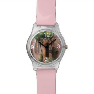 Reloj italiano de la puerta