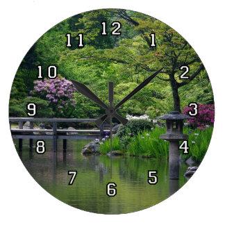 Reloj japonés del jardín