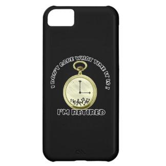 Reloj jubilado funda para iPhone 5C