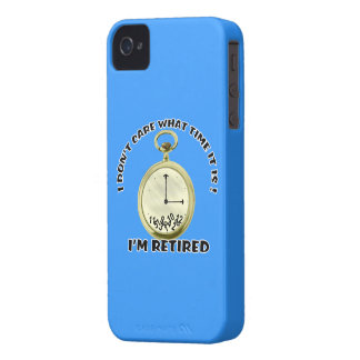 Reloj jubilado iPhone 4 Case-Mate carcasa