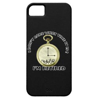 Reloj jubilado iPhone 5 carcasa