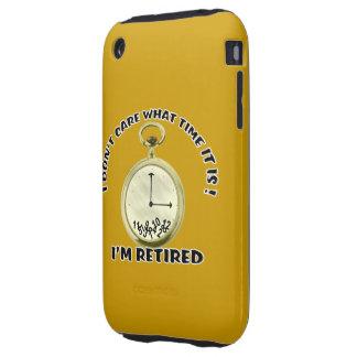 Reloj jubilado tough iPhone 3 protector