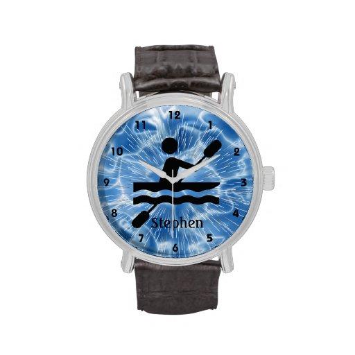 Reloj Kayaking adaptable del diseño