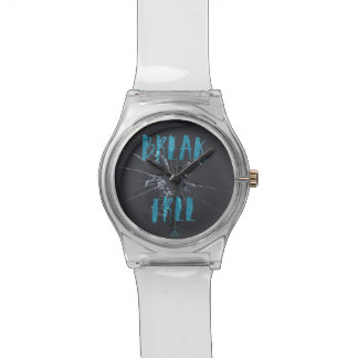Reloj libre de la pintada de la rotura