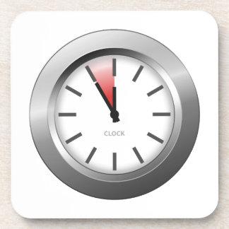 Reloj ligero posavasos