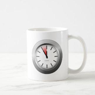 Reloj ligero taza