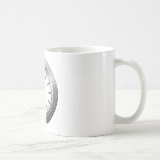 Reloj ligero taza clásica