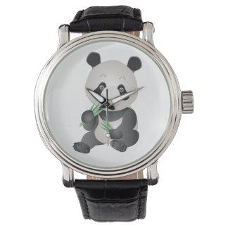 reloj lindo de la panda